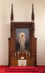 Gerhard Noack, Altarbild der Paul-Gerhardt-Kirche, 1910
